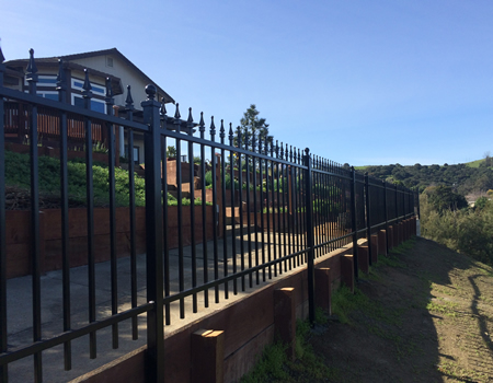 Ornamental Iron Fence & Gates